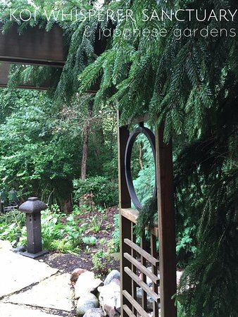Saint Charles, IL: Peace and Tranquility as your walk within our Japanese Gardens