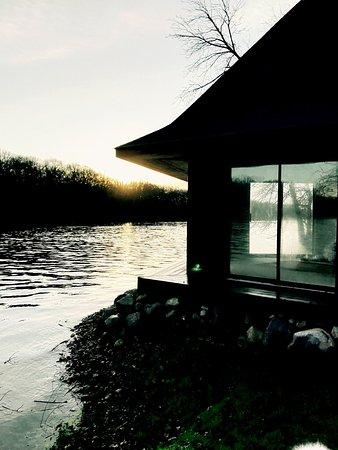 Saint Charles, IL: Buddha Tea House on the Fox River at the Koi Whisperer Sanctuary