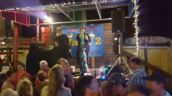 Nokomis, FL: Some pics of the alley and Friday nights with Take 2 playing