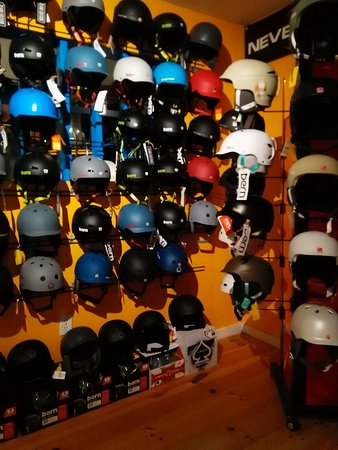 Jeffersonville, VT: Helmets from Anon and Bern