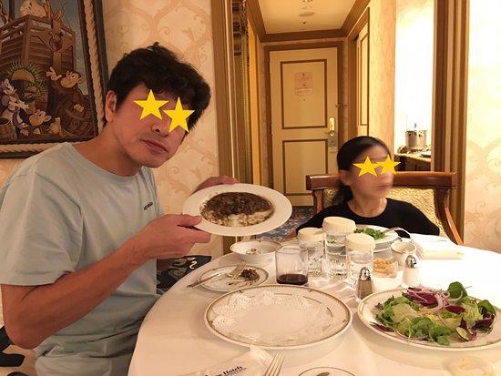 Tokyo DisneySea Hotel MiraCosta: ルームサービス(夜)