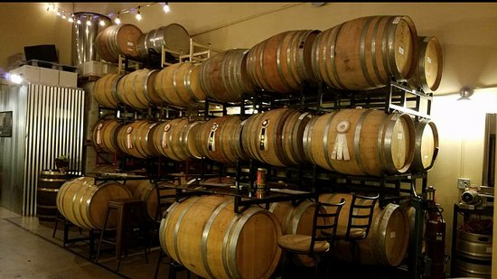 Lake Forest, كاليفورنيا: Barrel Room