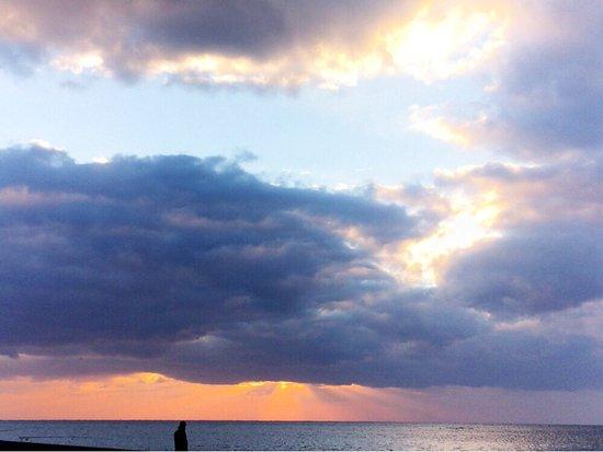 Bizen, Japón: 朝焼け、夕焼け、どっちもいい
