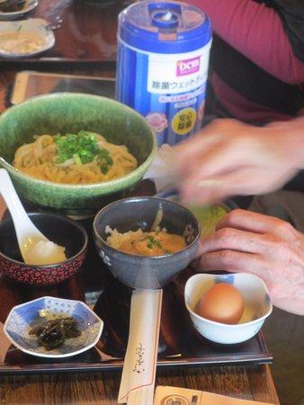 Toki, Japan: ころうどんととろろご飯のセット