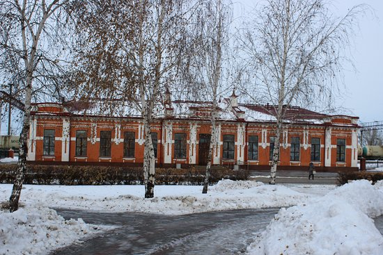 Yalutorovsk, Russia: Ялуторовск, вокзал