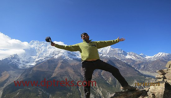 Kathmandu Valley, Nepal: the photo from Annapurna trek