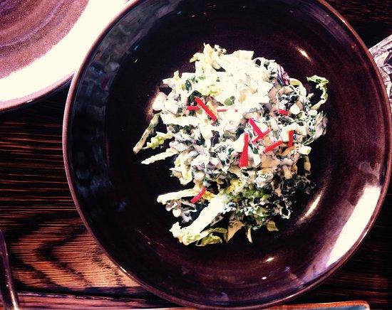 Mangawhai, Nueva Zelanda: Kale and Cabbage Salad