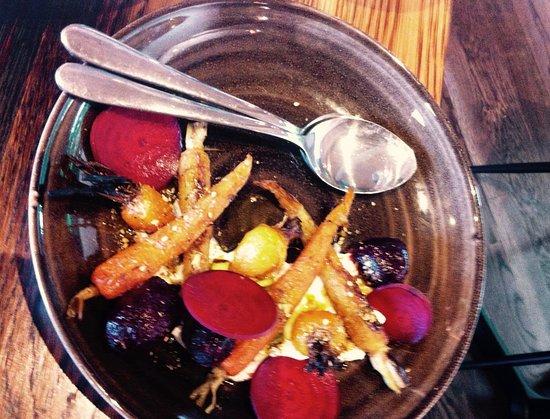 Mangawhai, New Zealand: Roast Beetroot and Carrot Salad