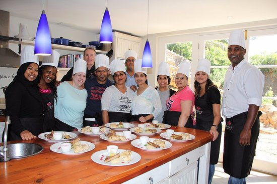 Hout Bay, South Africa: Cooking classes for everyone!