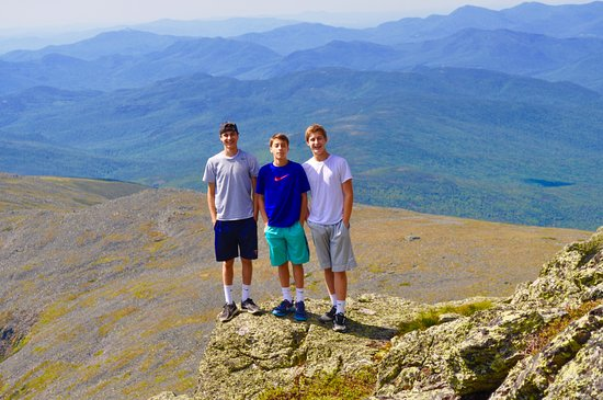 Mount Washington, Νιού Χάμσαϊρ: The three boys.