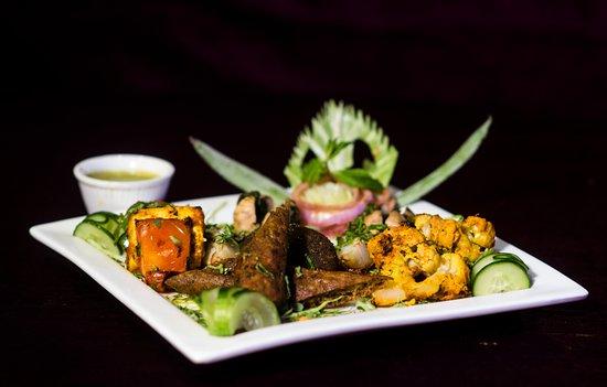 The Theme, Jaipur: Dish @ The Theme Jaipur - Veg Platter