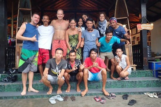 Gili Air, Indonesia: Great team! Small groups!