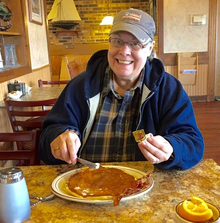 Superior, WI: My wife had two pancakes.
