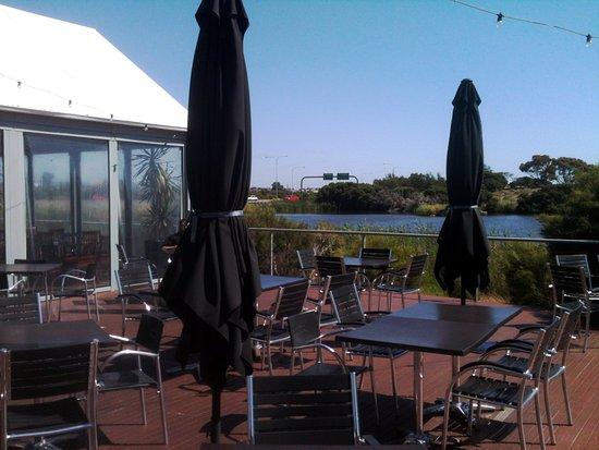 Salisbury, Australia: Outside Deck