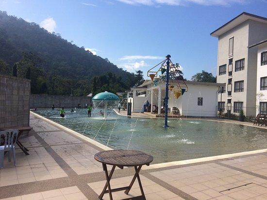 Bentong, Malaysia: Children's pool area