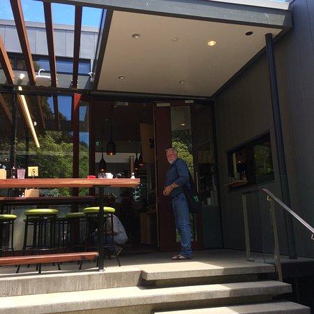 Nelson, New Zealand: cafe