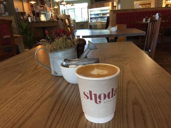Maynooth, Irlanda: Excellent coffee & amazing food at Shoda, great place to meet, eat and relax in comfort.