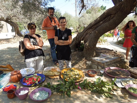 Даратсос, Греция: Eating in Roman Crete- Workshop