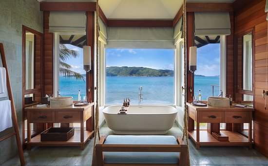 Image result for Six Senses Zil Pasyon - Felicite Seychelles bathroom