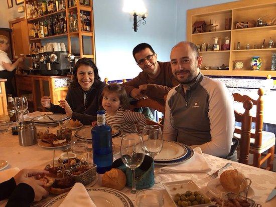Sant Jaume d'Enveja, Spanien: Entre amigos!