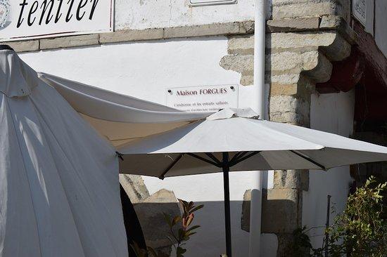 """""""La Table gourmande"""" de Ghislaine Potentier, La Bastide-Clairence (64, Nouvelle Aquitaine), Fran"""