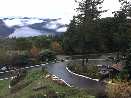 Malahat, Canada: View from Dining Room