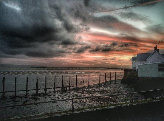 Aberdyfi (Aberdovey), UK: view from Penhelig