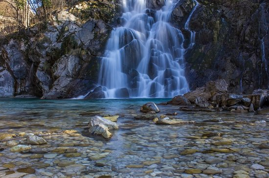 Tarcento, Italie : Sentiero Cascate di Crosis