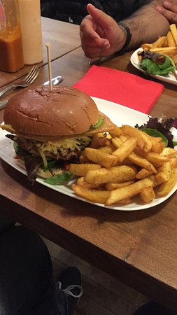 High Wycombe, UK: Probably the best burger in the world!