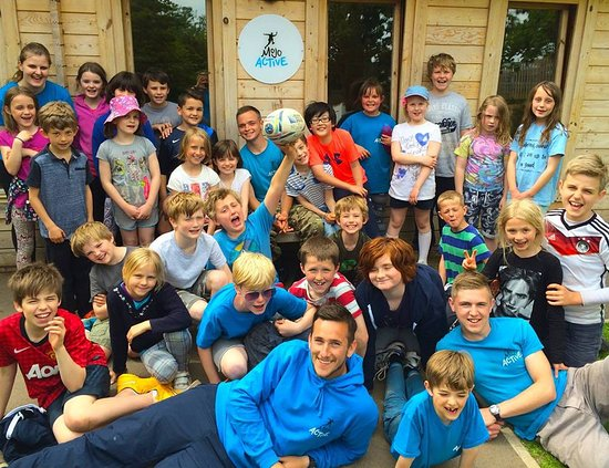 Almondsbury, UK: Mojo Activev - voted best holiday club in 2016 in the Raring2Go awards