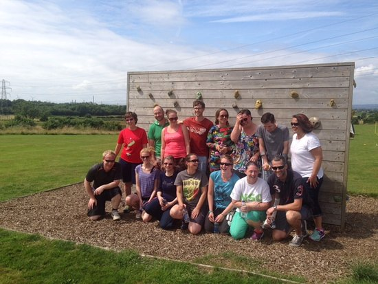 Almondsbury, UK: Team-building sessions for small and large teams at Mojo Active