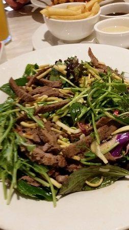 Bunbury, Austrália: Dome Thai Beef Salad