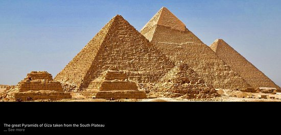 Real Egypt Day Tours: Giza is a plateau southwest of modern Cairo which served as the necropolis for the royalty of th