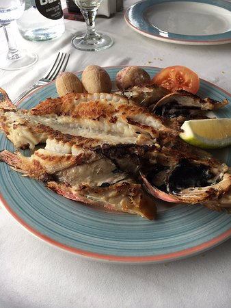 El Golfo, Spanien: Local fish as the main platter