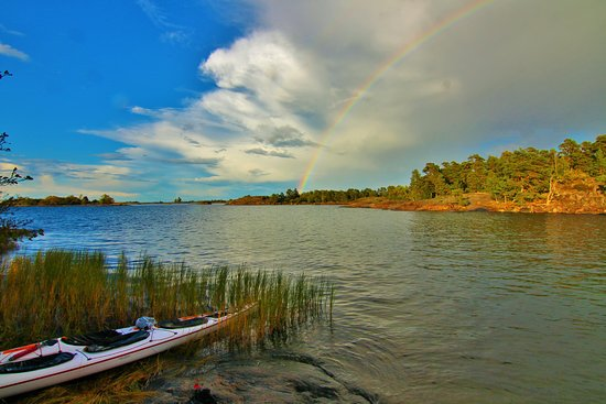 Söderköping, Sverige: another great day to have a paddle