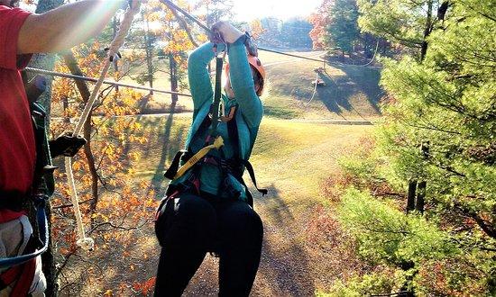 Simpsonville, SC: Zipline Fun with Trail Blazer Survival School