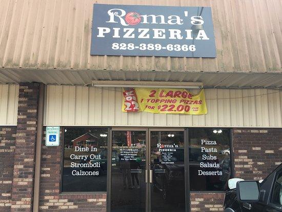 Hayesville, North Carolina: Roma's Pizzeria