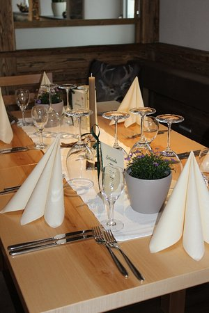 Buchenberg, เยอรมนี: gedeckter Tisch