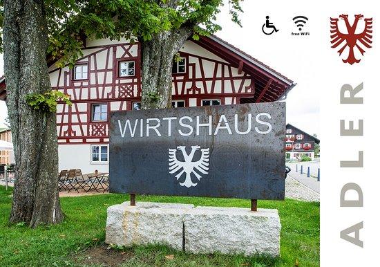 Buchenberg, เยอรมนี: Wirtshaus ADLER