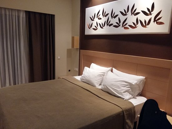 Lydia Hotel: Το δωμάτιο όπως το δείχνουν στις φωτο το ξενοδοχείου.