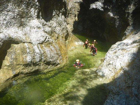 Ebenau, Austria: Canyoning Salzkamergut By Obermayr