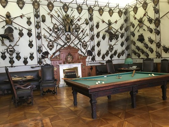 Kromeriz, Czech Republic: Billiard room