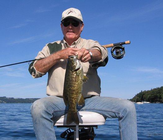 Auburn, NY: Fly Fishing For Smallmouth Bass on Owasco Lake