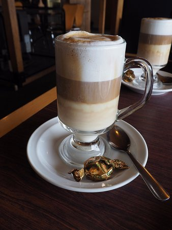 Manapouri, New Zealand: Latte