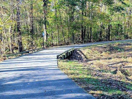 Cary, NC: along greenway