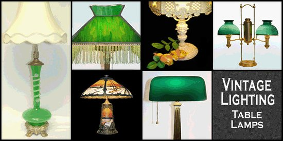The antique lamp co and gift emporium table lamps from every era