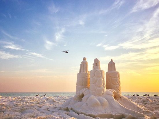 Sandcastle Lessons with www.BeachSandSculptures.com ...