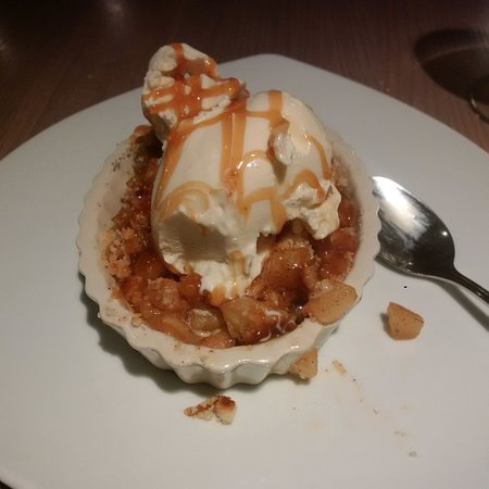 Hyatt Regency Deerfield: Lovely apple cobbler