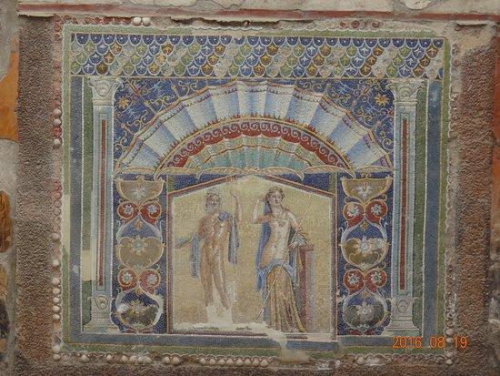 Ercolano, Italie : Casa di Nettuno e Anfitrite