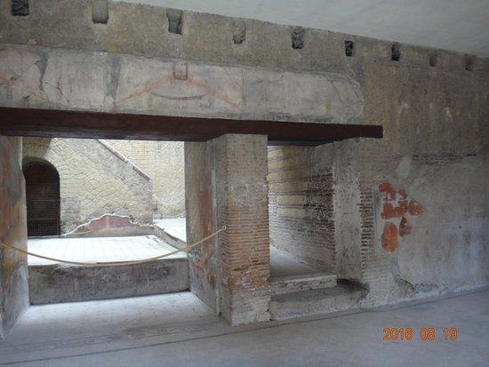 Ercolano, Italie : Casa del Bel Cortile